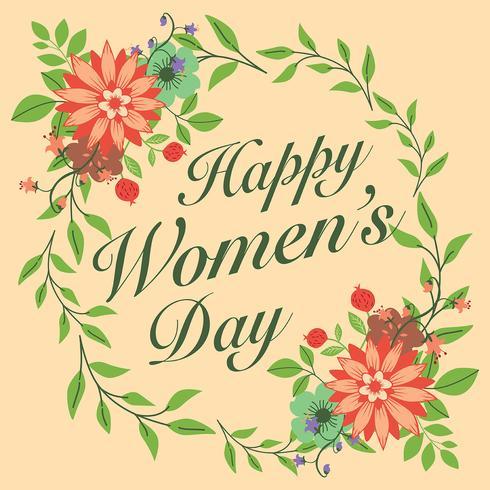 Illustrazione del giorno delle donne internazionali vettore