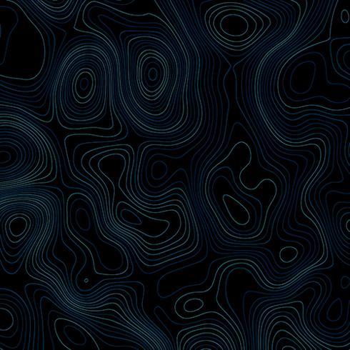 Sfondo astratto con linee topografiche vettore