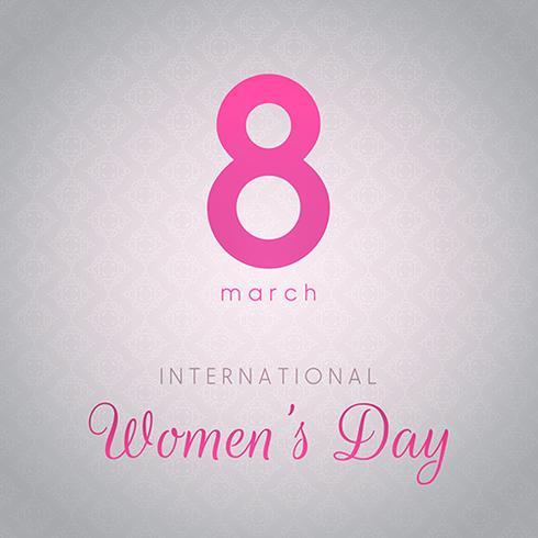 Sfondo della Giornata internazionale della donna vettore