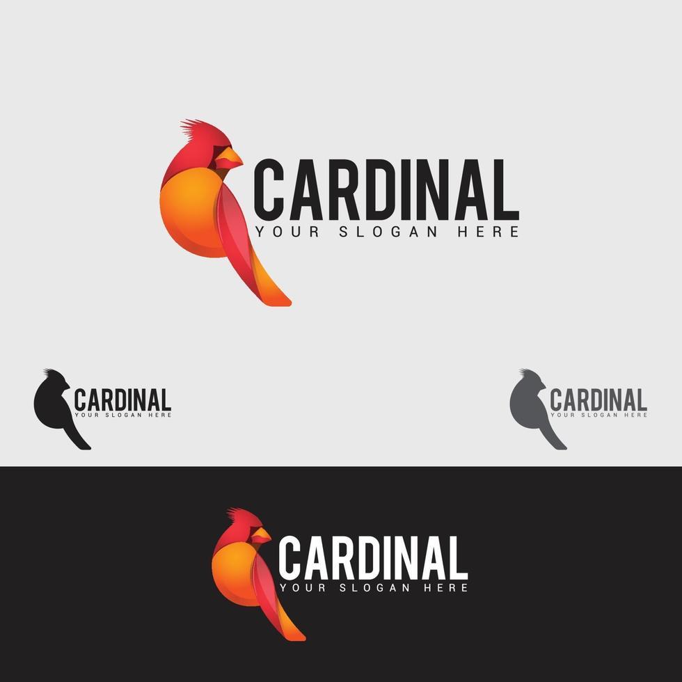 modello di progettazione di logo di volo degli uccelli vettore