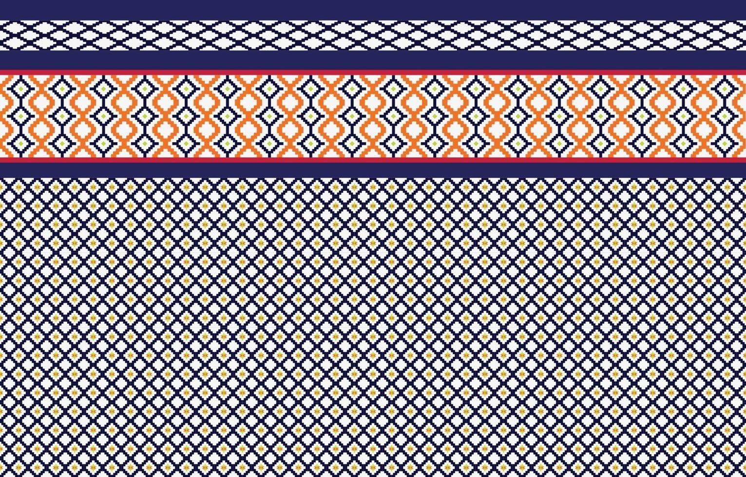 disegno tradizionale del modello etnico geometrico etnico astratto per uno sfondo vettore