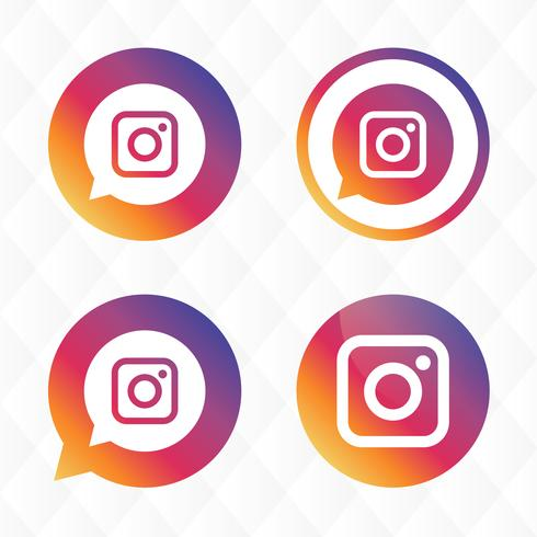 Icona di Instagram vettore
