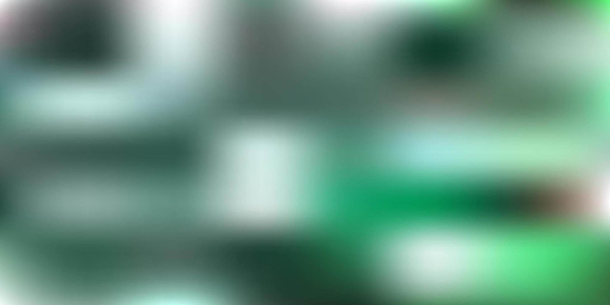 sfondo sfocato vettoriale verde scuro.