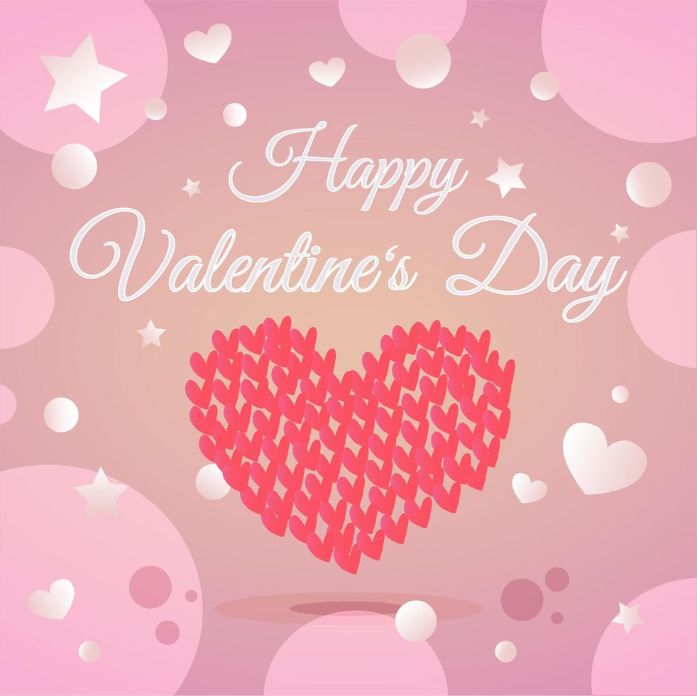 illustrazione di giorno di San Valentino vettore