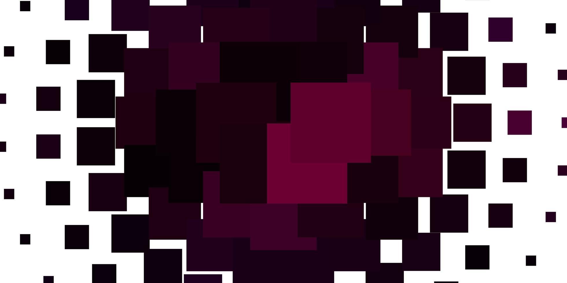 modello vettoriale viola chiaro in stile quadrato.