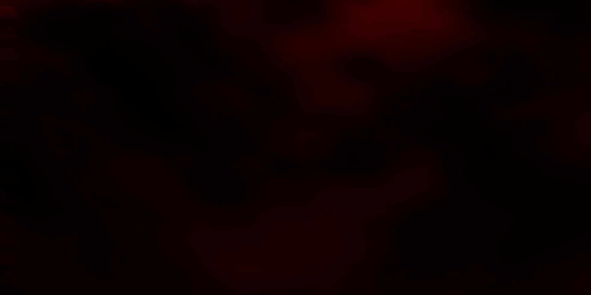trama vettoriale rosso scuro in stile rettangolare.