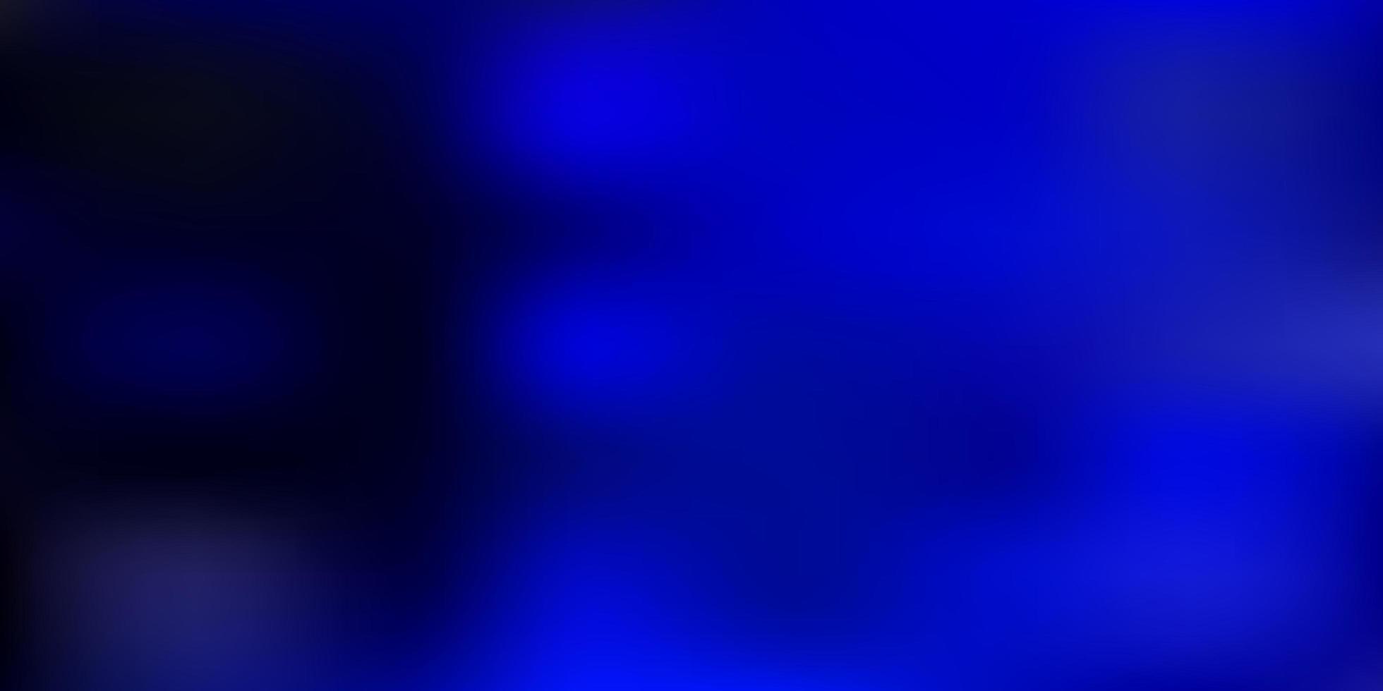 sfondo sfocatura astratta vettoriale blu scuro.