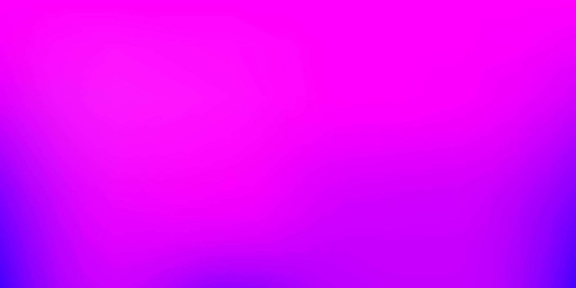 sfondo sfocato sfumato vettoriale viola chiaro, rosa.