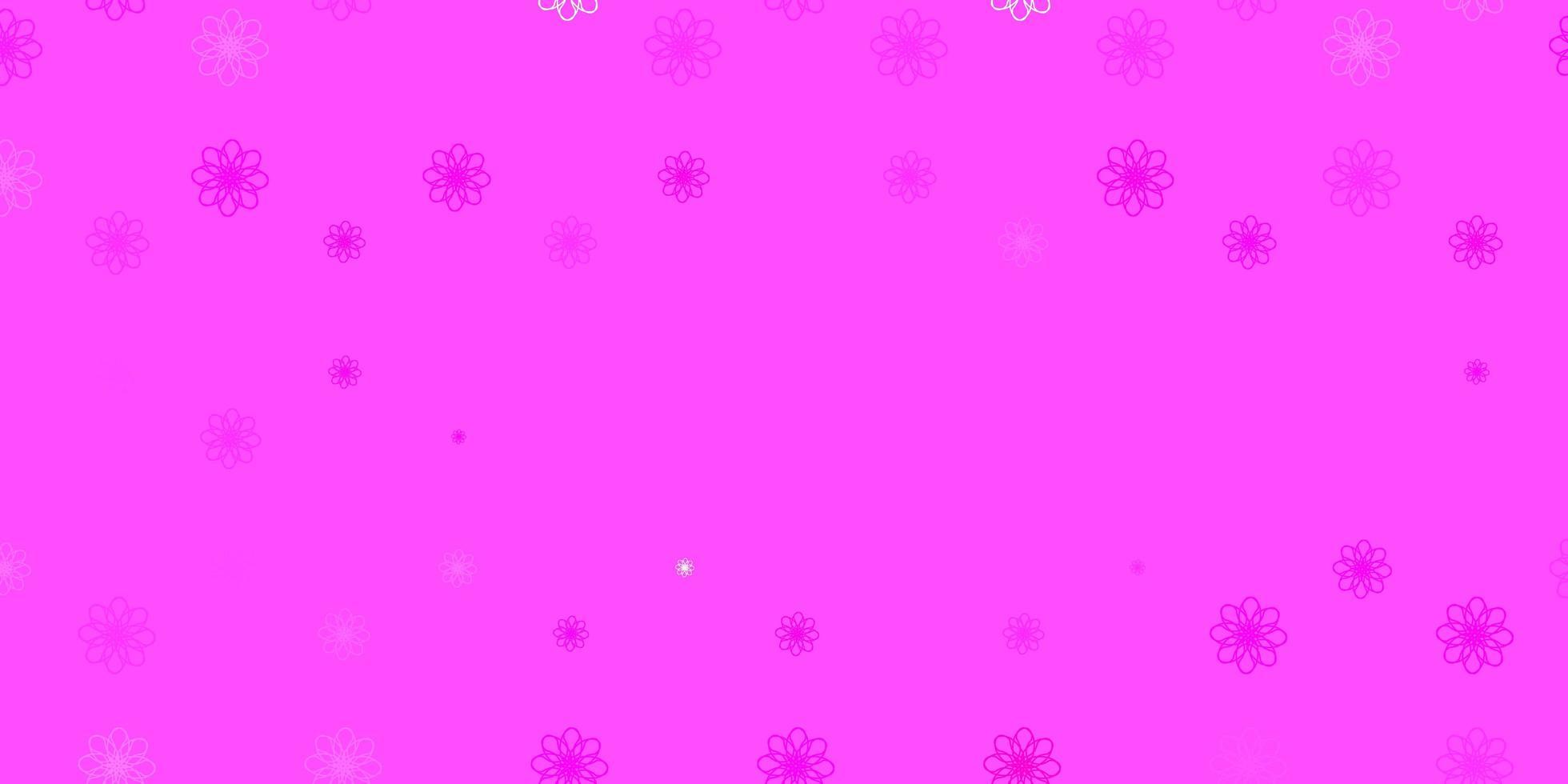 sfondo vettoriale rosa chiaro con linee ironiche.