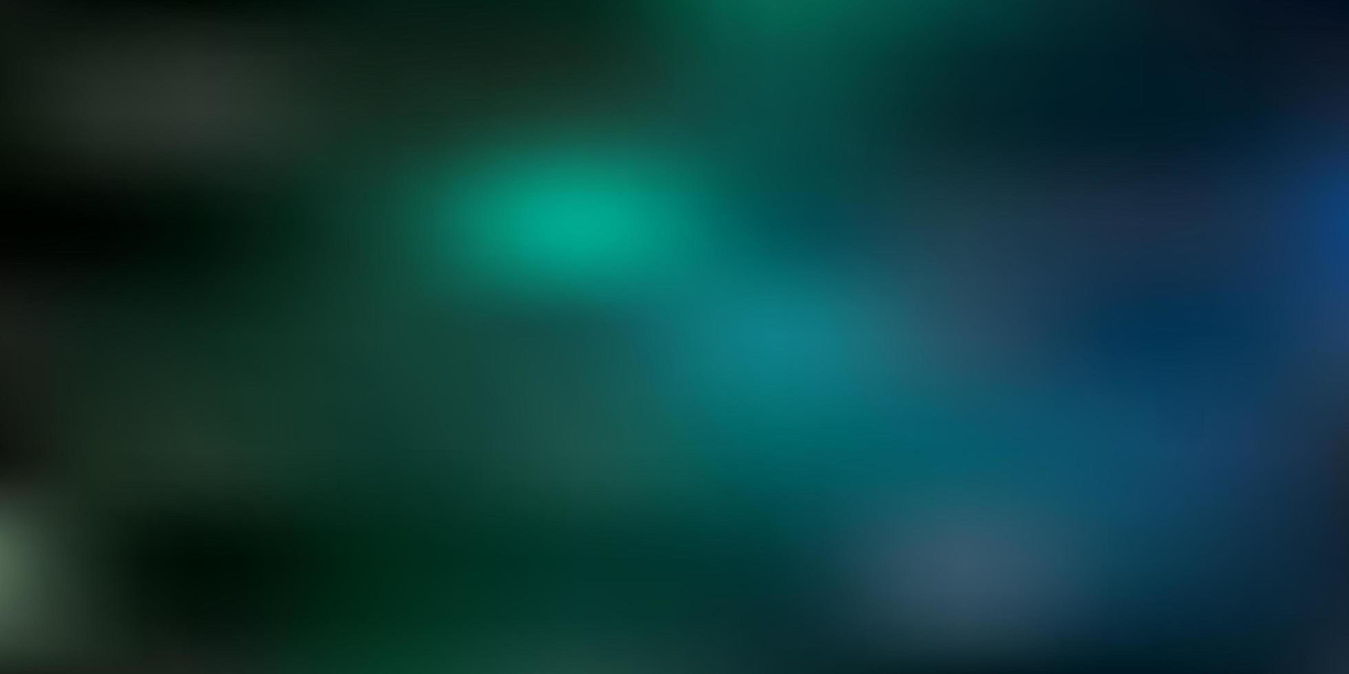 trama di sfocatura astratta vettoriale verde scuro.