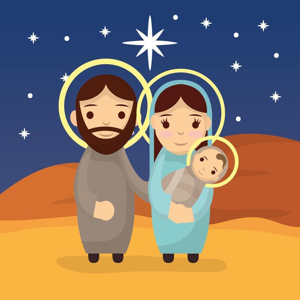 epifania di gesù, sacra famiglia vettore