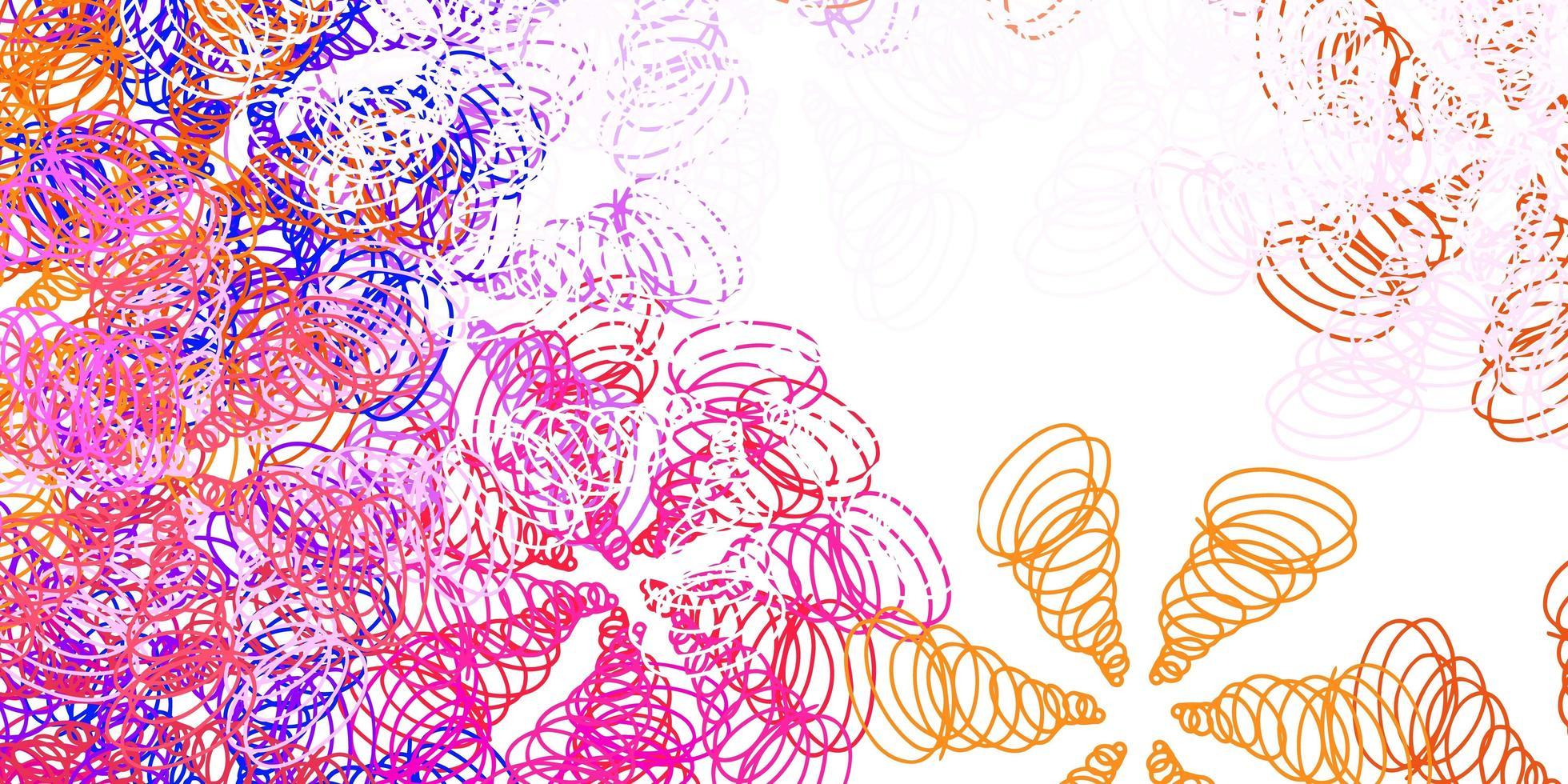 modello vettoriale rosa chiaro, giallo con linee.