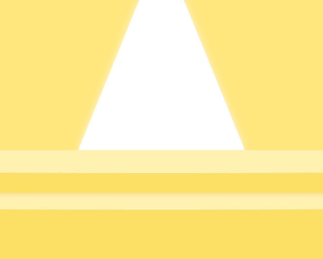 podio del cilindro vuoto su sfondo minimo. scena minimale astratta con forme geometriche. design per la presentazione del prodotto. 3d illustrazione vettoriale. vettore