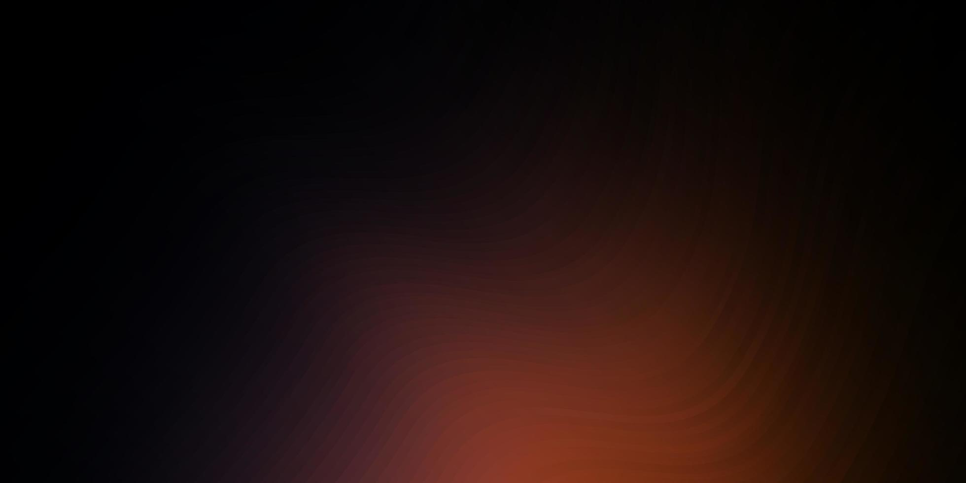 sfondo vettoriale rosa scuro, giallo con curve.