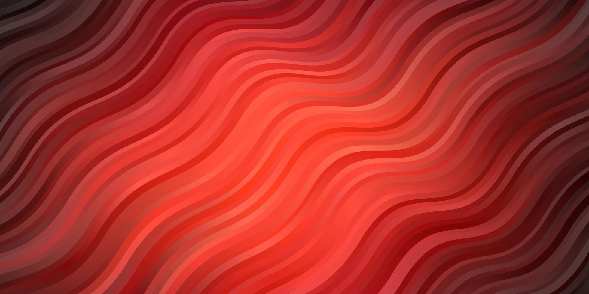 sfondo vettoriale rosa scuro, rosso con linee ironiche.