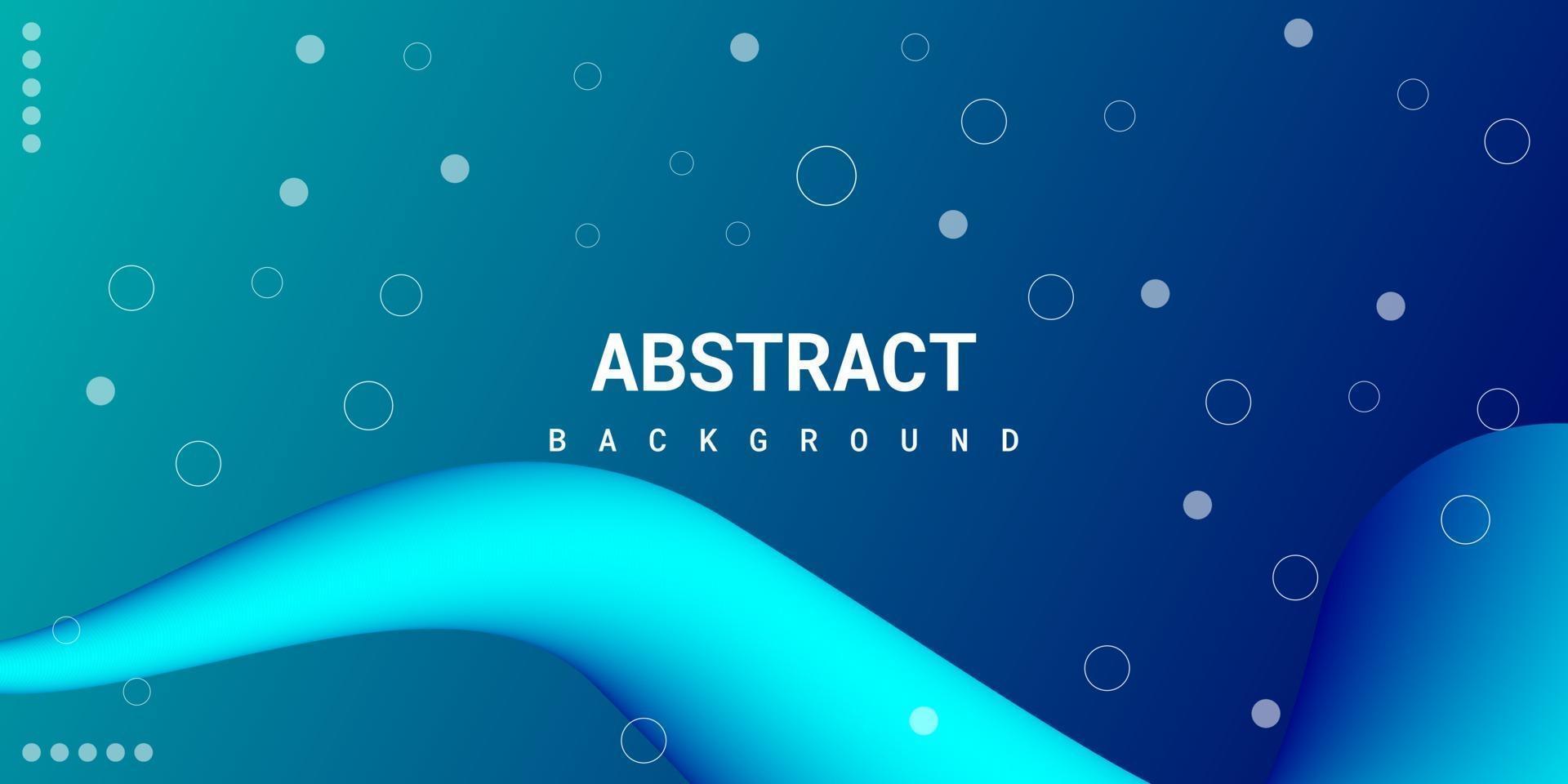 moderno astratto liquido 3d sfondo con sfumatura blu vettore