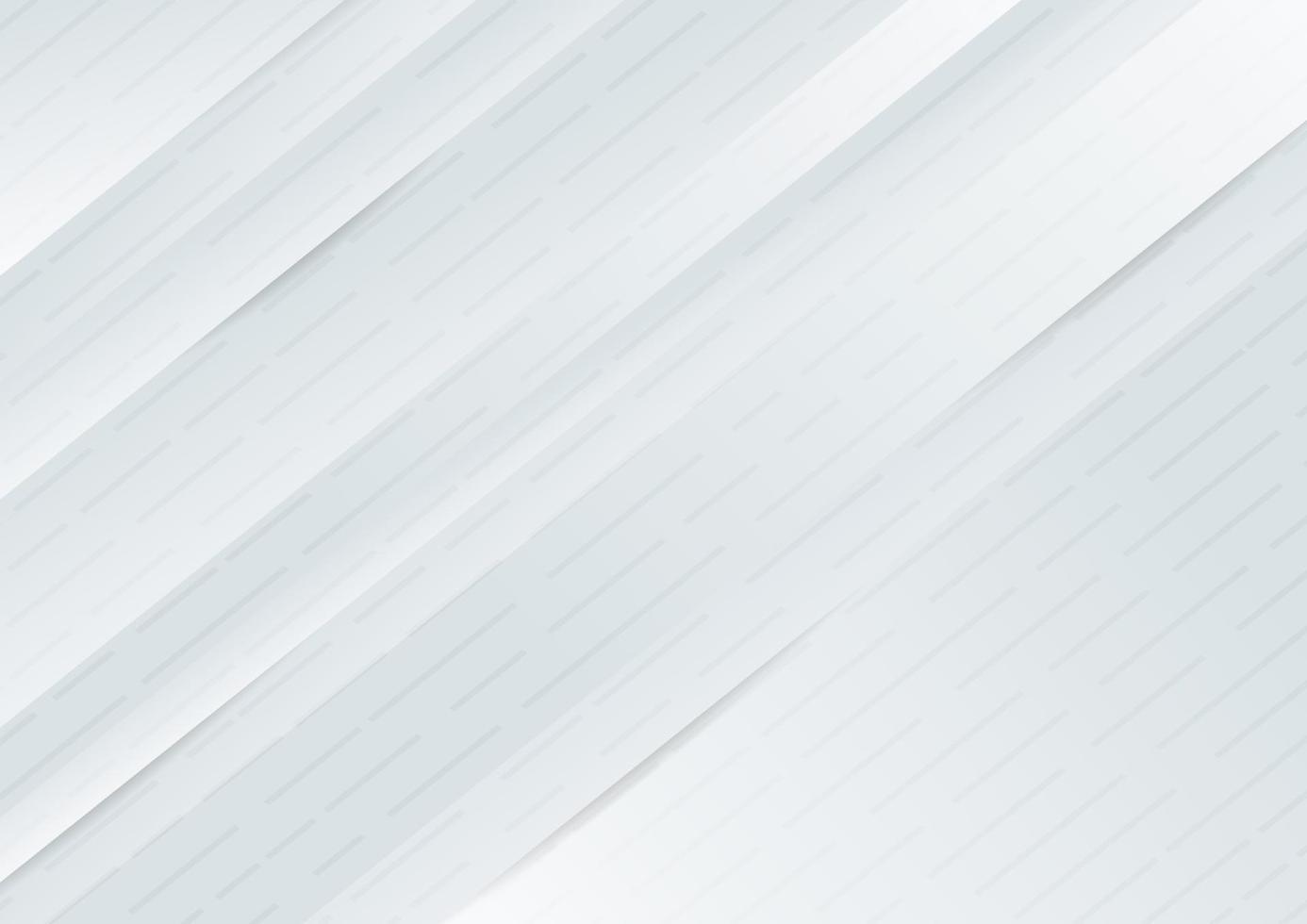astratto diagonale grigio e bianco sfumato colore di sfondo e texture. vettore