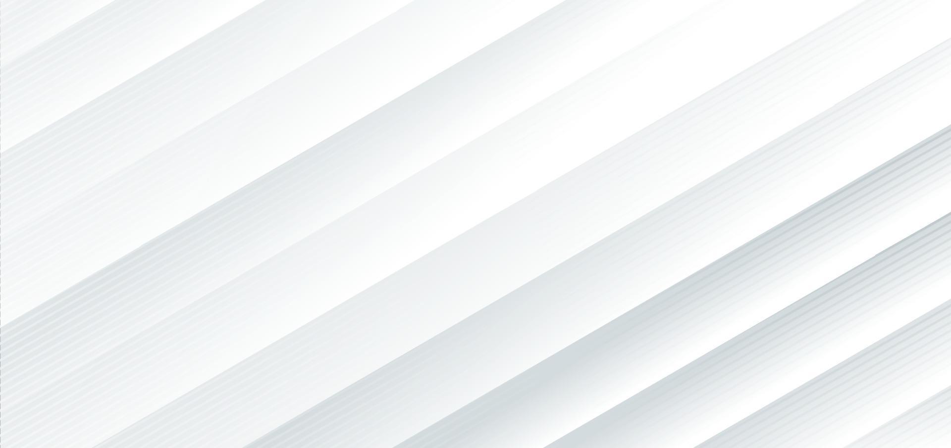 sfondo bianco diagonale astratto. vettore