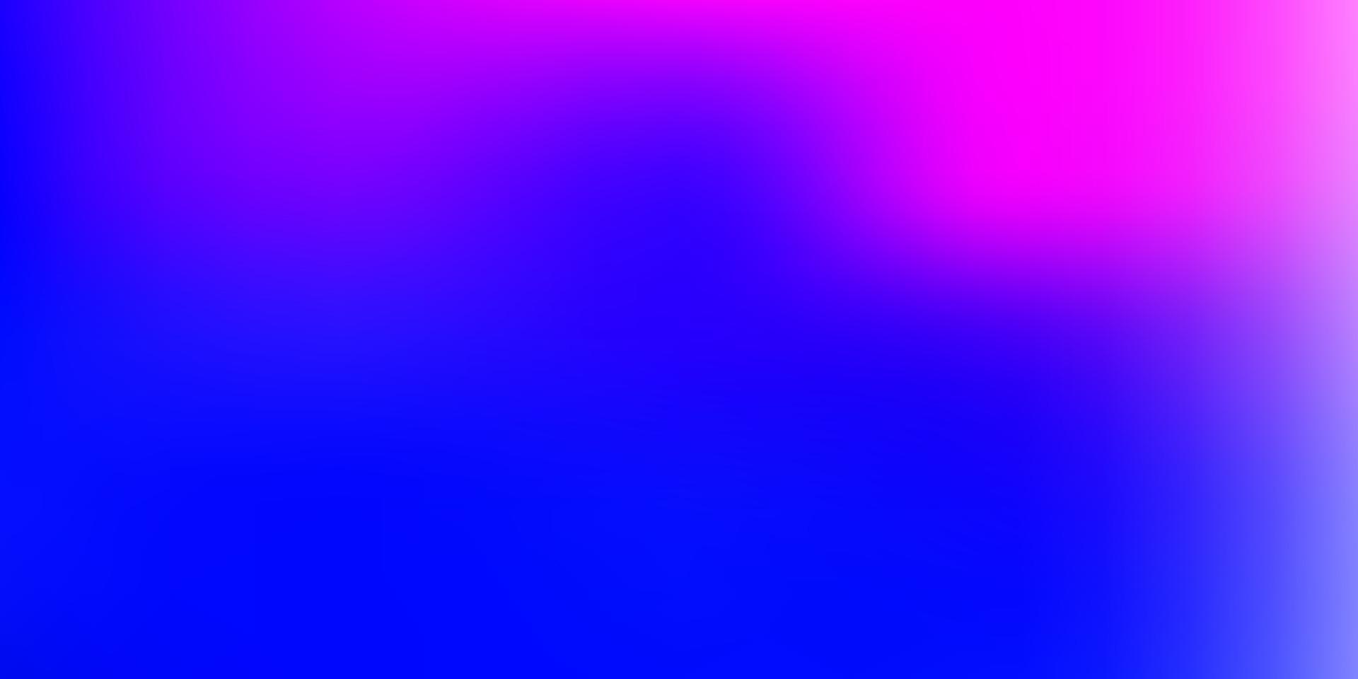 modello di sfocatura gradiente vettoriale rosa chiaro, blu.