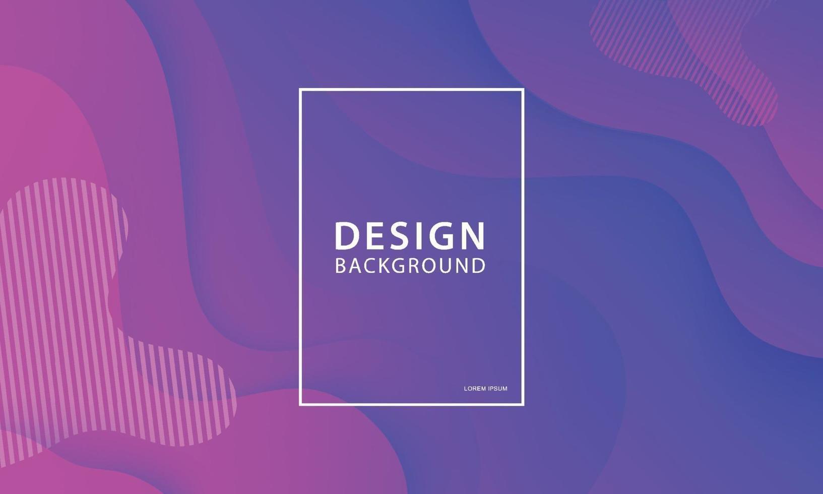 sfondo di progettazione di banner di forma fluida. modello gradiente geometrico liquido. vettore