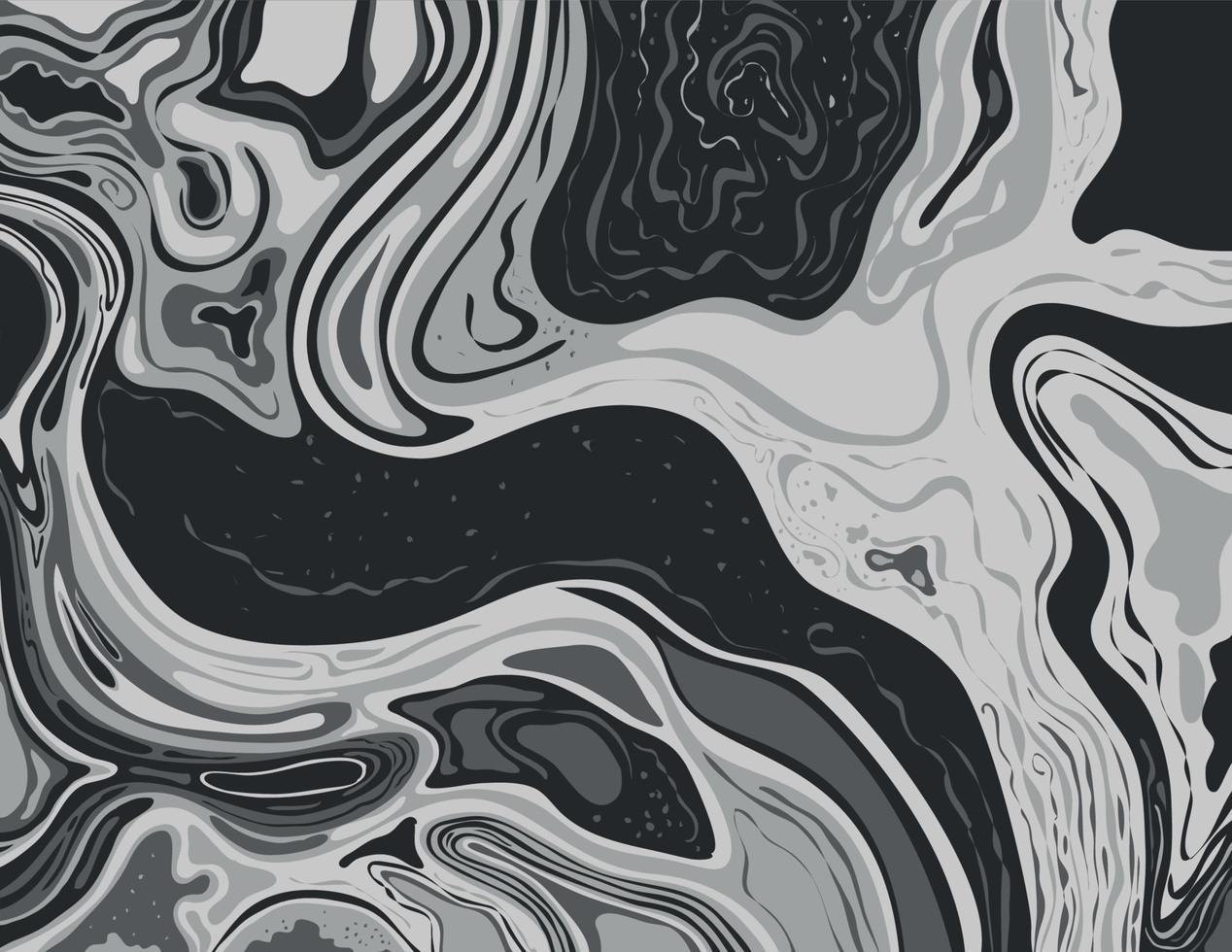 in scala di grigi e in bianco e nero inkscape suminagashi kintsugi carta marmorizzata inchiostro giapponese arte vettore