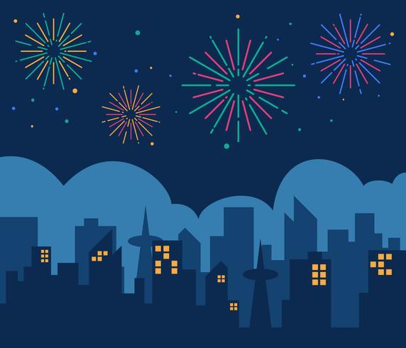 Vettori di fuochi d'artificio fantastici