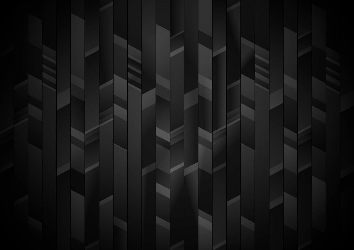 strisce verticali astratte nere e grigie, sfondo motivo geometrico. vettore