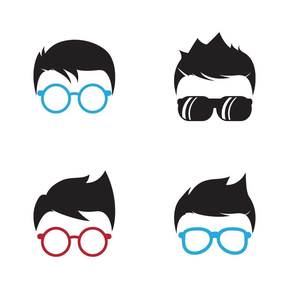 immagini del logo geek vettore