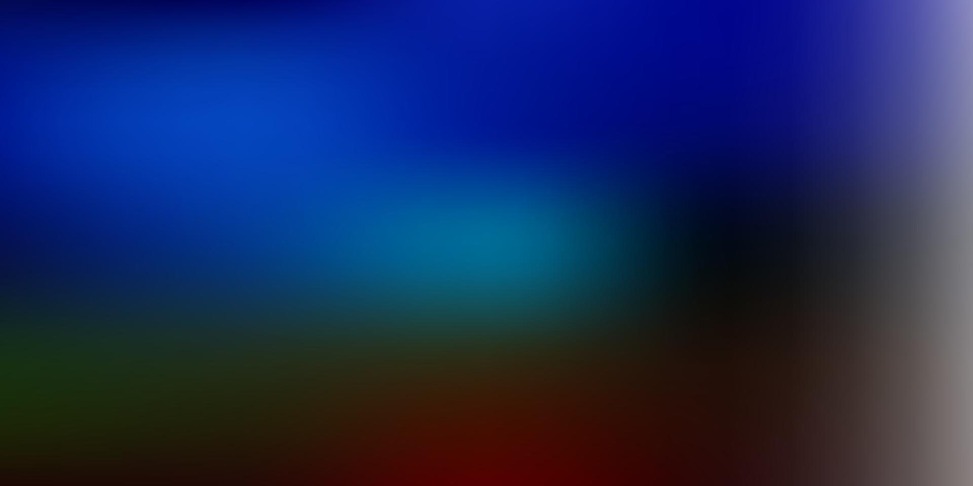 trama di sfocatura vettoriale multicolore scuro.
