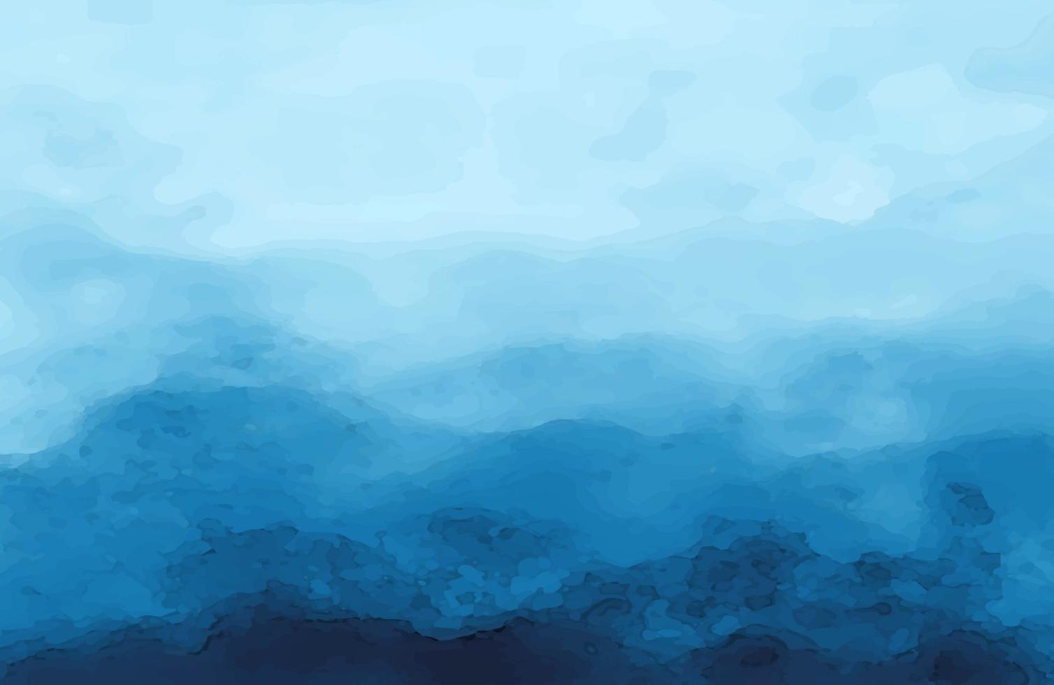 fondo di struttura della pittura di arte liquida. astratto pittura ad acquerello sfondo blu scuro colore grunge texture di sfondo vettore