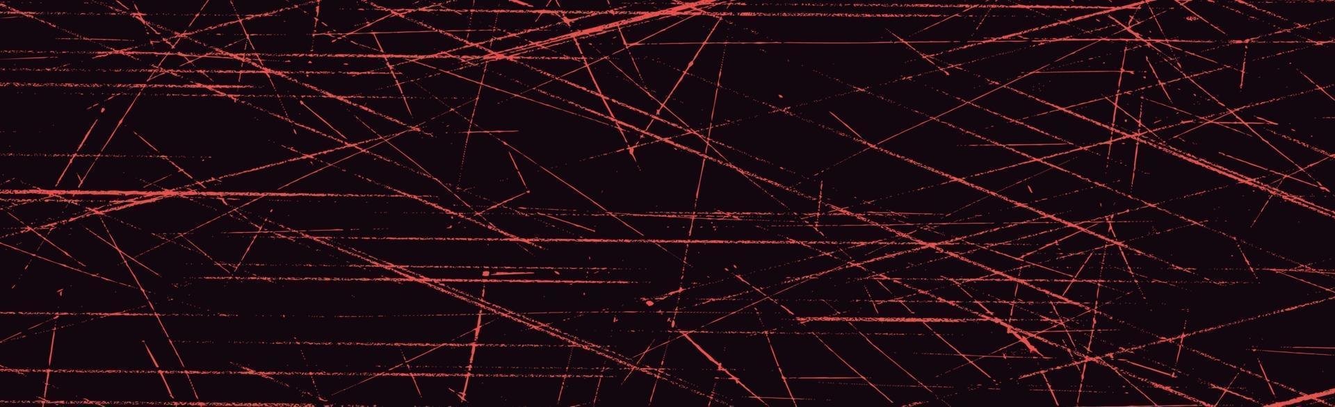 grunge linee bianche e punti su sfondo nero - illustrazione vettoriale