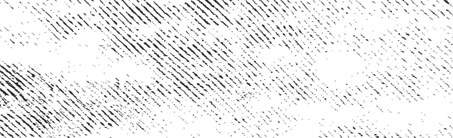 grunge linee nere e punti su uno sfondo bianco - illustrazione vettoriale