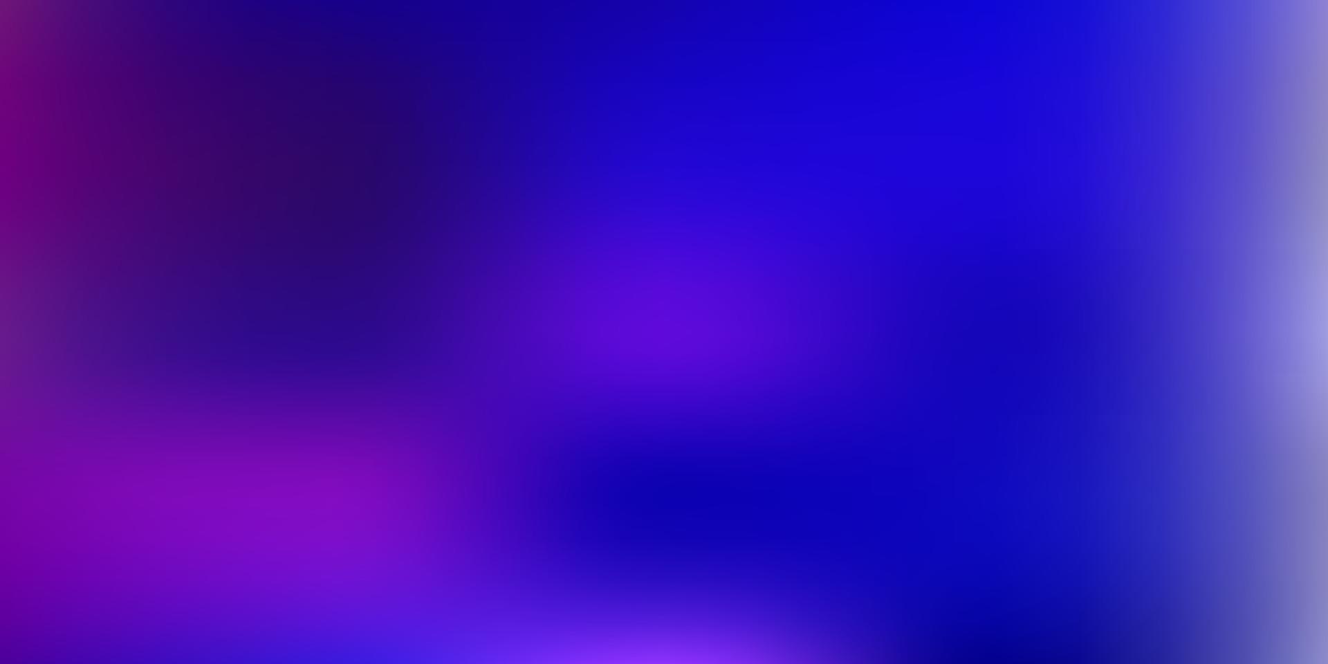 layout sfocatura sfumatura vettoriale rosa scuro, blu.