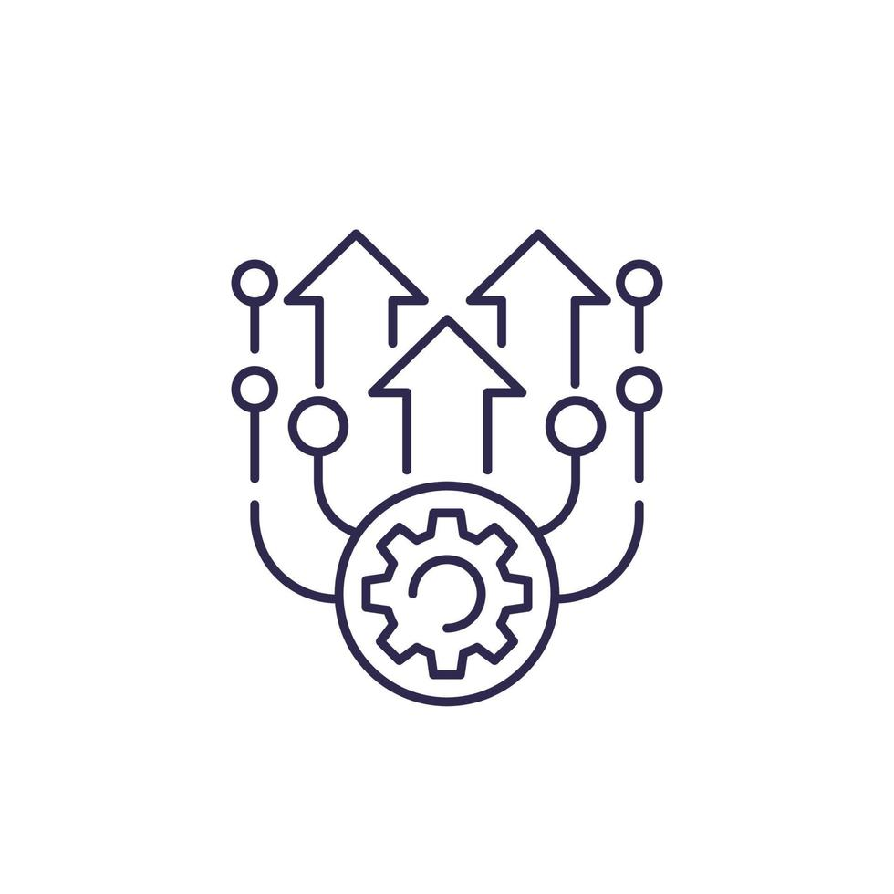 aggiornamento linea del vettore icon.eps