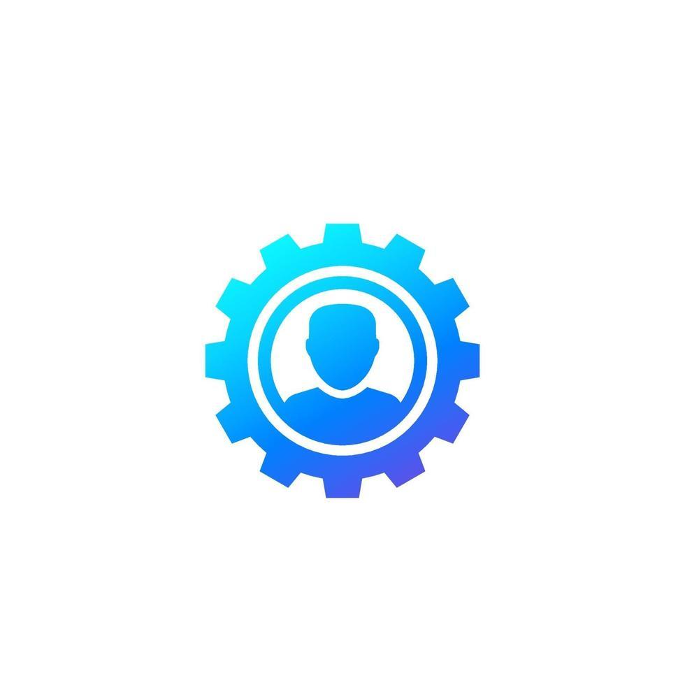 impostazioni dell'account, modifica il vettore del profilo icon.eps