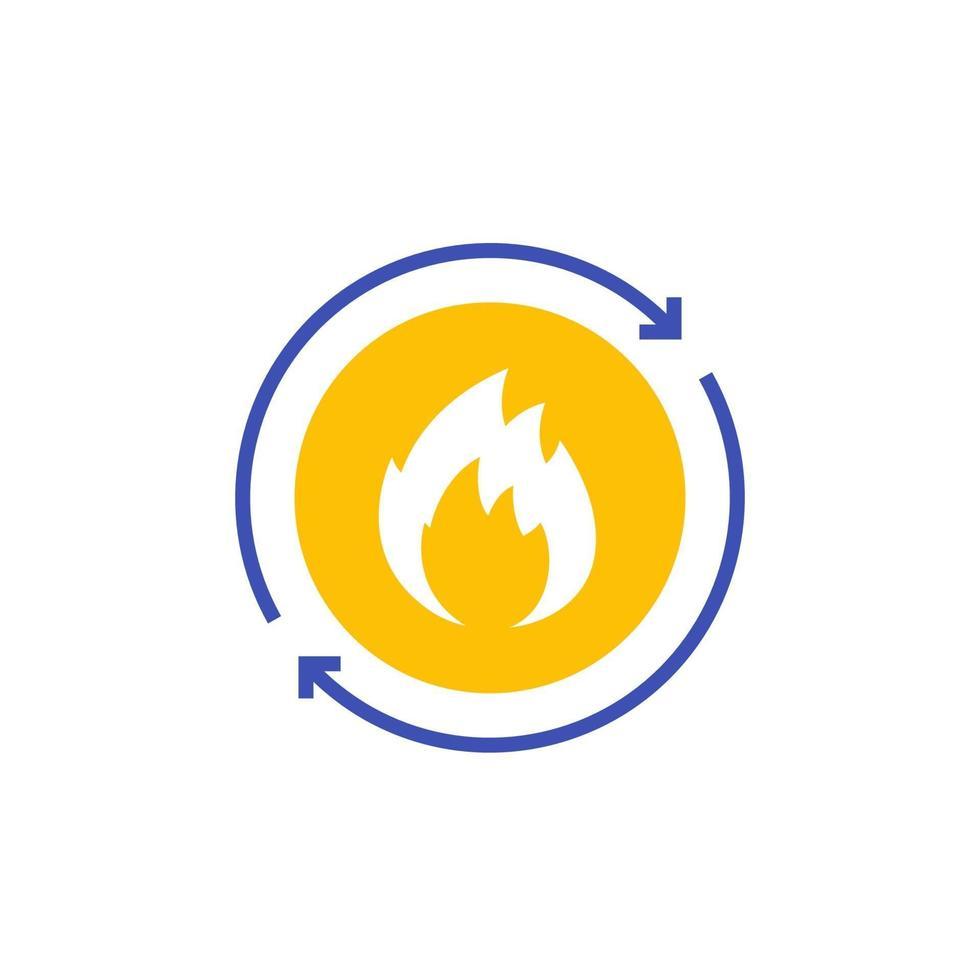 icona di vettore del metabolismo su white.eps