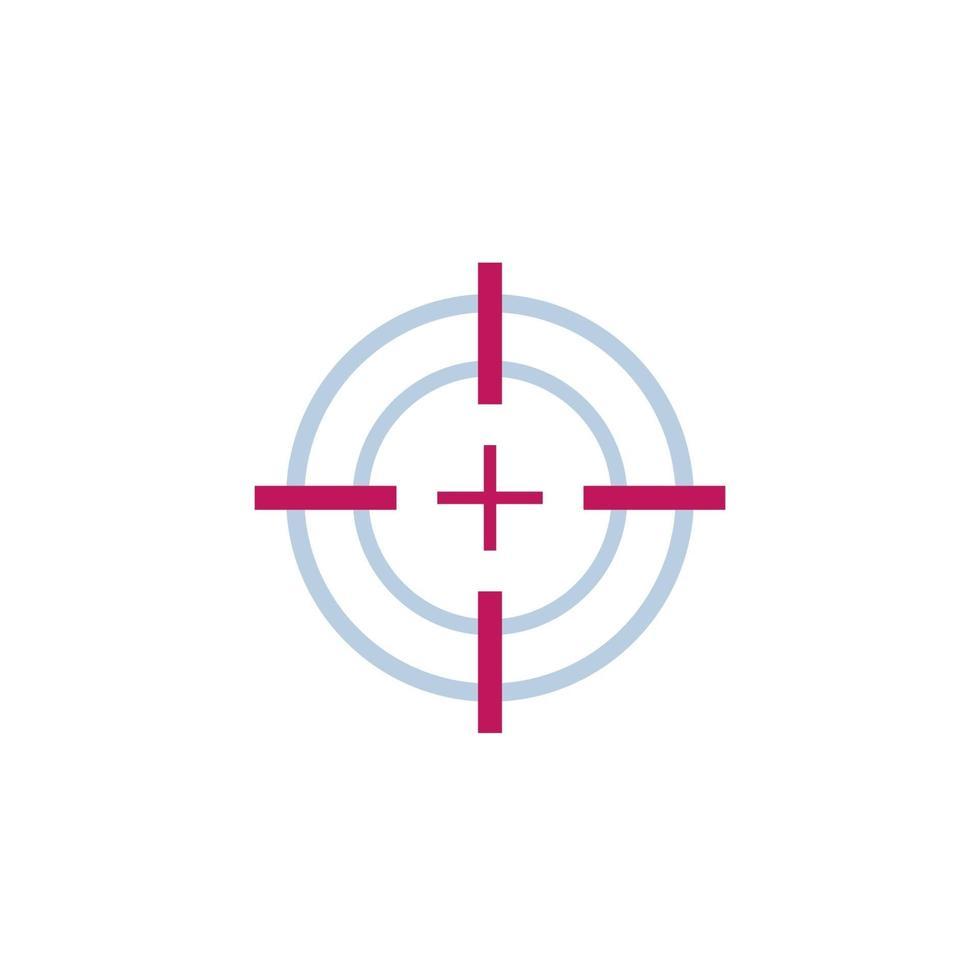 obiettivo obiettivo o vettore mirino icon.eps
