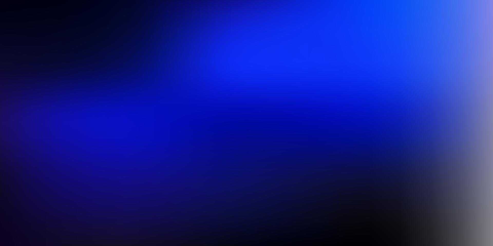 modello di sfocatura gradiente vettoriale blu scuro.