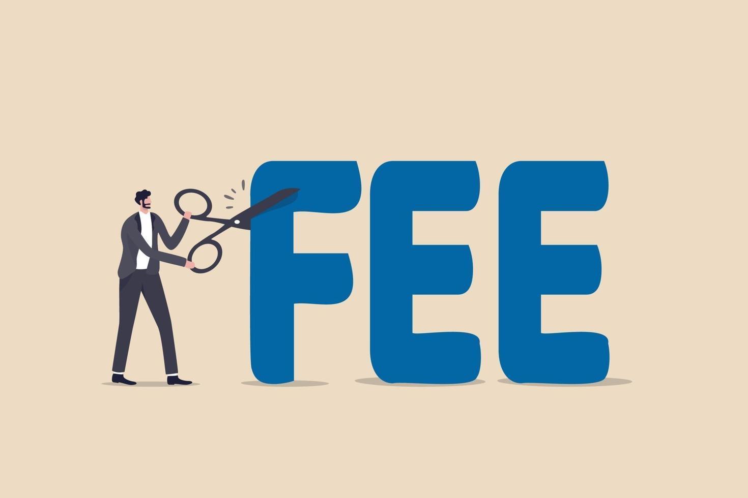 tagliare la commissione, ridurre le spese di servizio da pagare, fondo comune di investimento a basso costo o fondo indicizzato con una commissione bassa, rinuncia al concetto di spesa finanziaria vettore