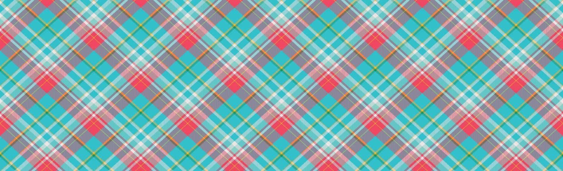 trama scozzese scozzese scozzese senza soluzione di continuità con rombi - vettore
