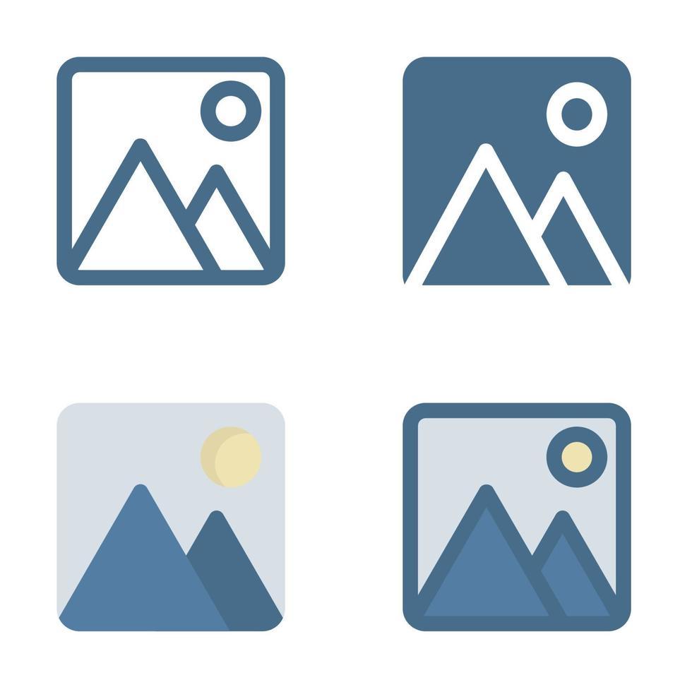 icona dell'immagine in isolati su sfondo bianco. per il design del tuo sito web, logo, app, ui. illustrazione grafica vettoriale e tratto modificabile. eps 10.