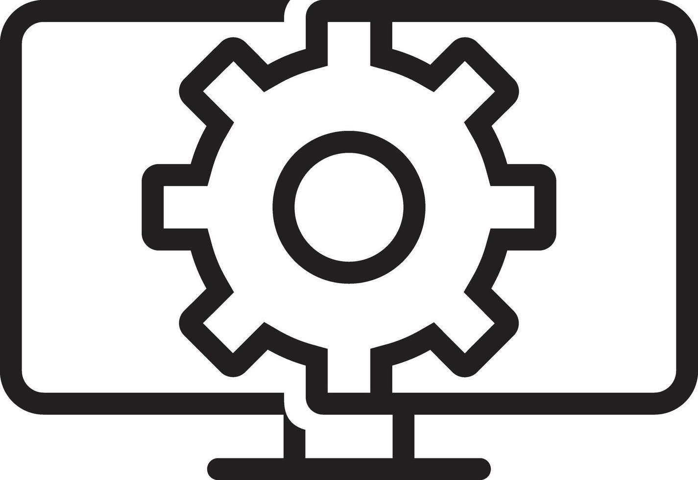icona della linea per il web vettore