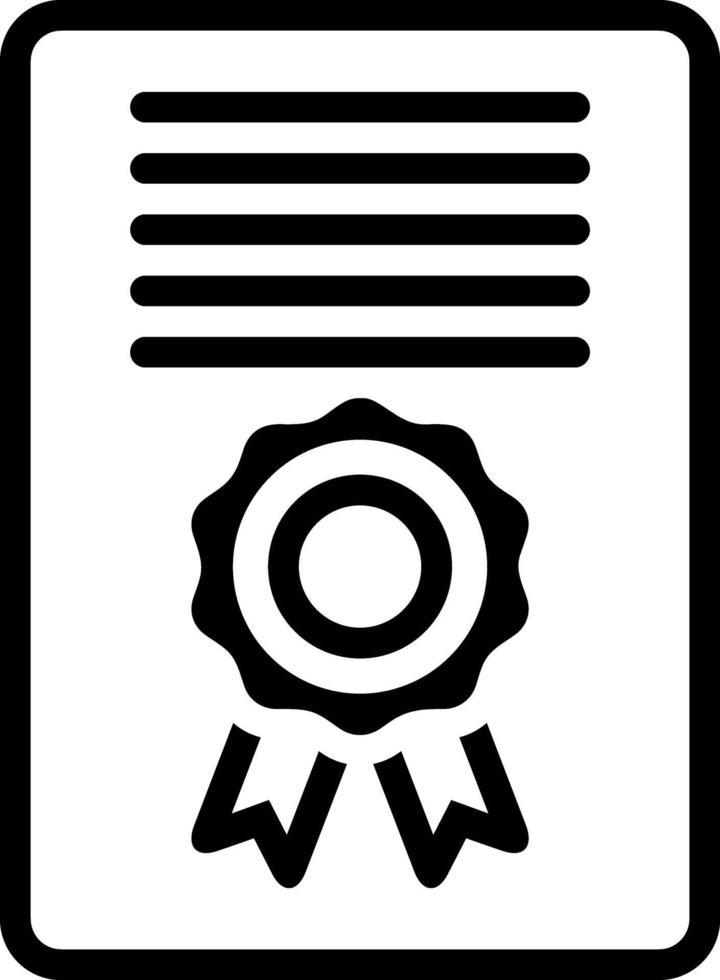 icona linea per accordo vettore