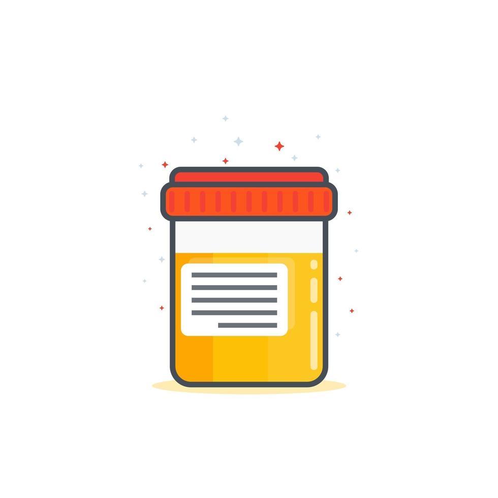 test delle urine, vettore