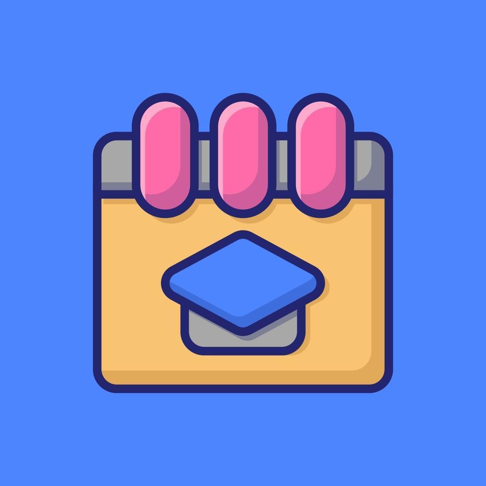 nota icona vettore illustrazione. stile cartone animato piatto adatto per pagina di destinazione web, banner, adesivo, sfondo.