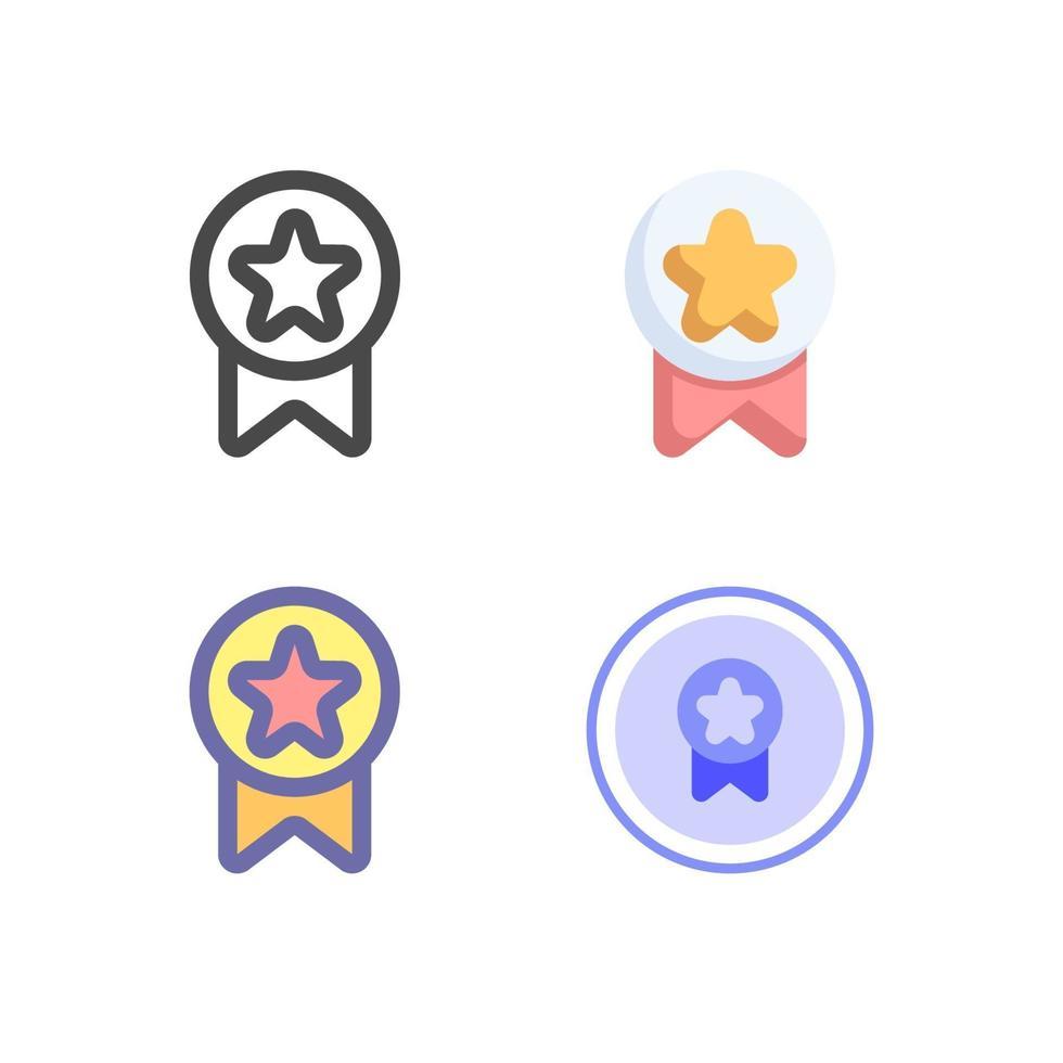 pacchetto di icone best seller isolato su sfondo bianco. per il design del tuo sito web, logo, app, ui. illustrazione grafica vettoriale e tratto modificabile. eps 10.