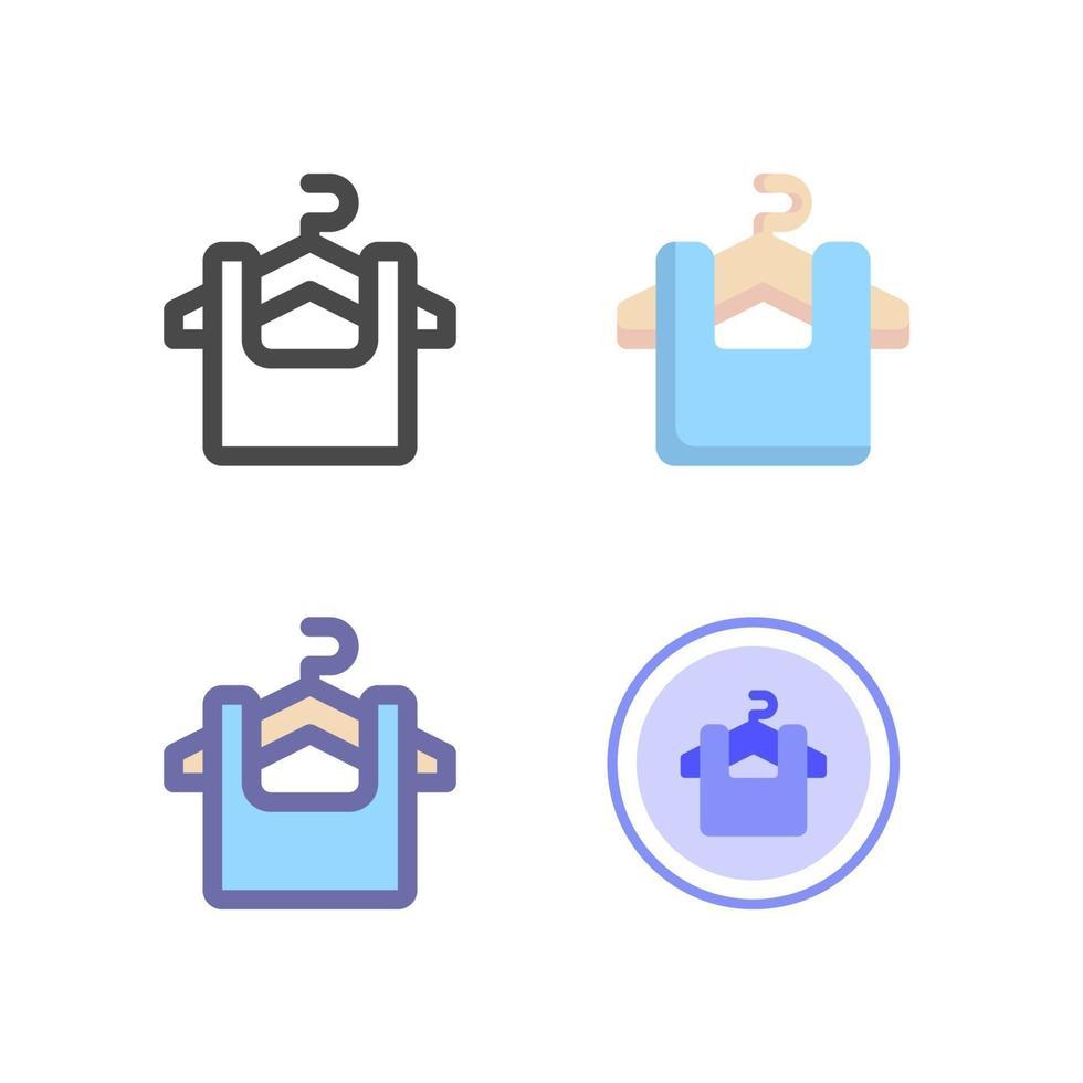 icon pack di moda isolato su priorità bassa bianca. per il design del tuo sito web, logo, app, ui. illustrazione grafica vettoriale e tratto modificabile. eps 10.
