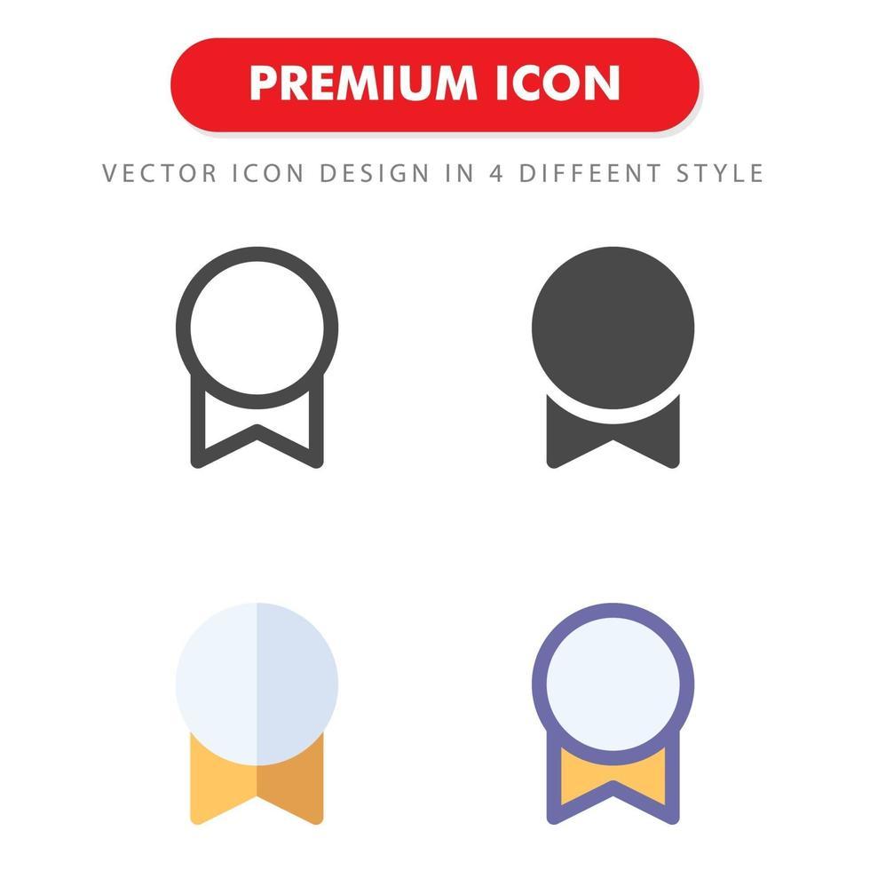 icon pack medaglia isolato su sfondo bianco. per il design del tuo sito web, logo, app, ui. illustrazione grafica vettoriale e tratto modificabile. eps 10.