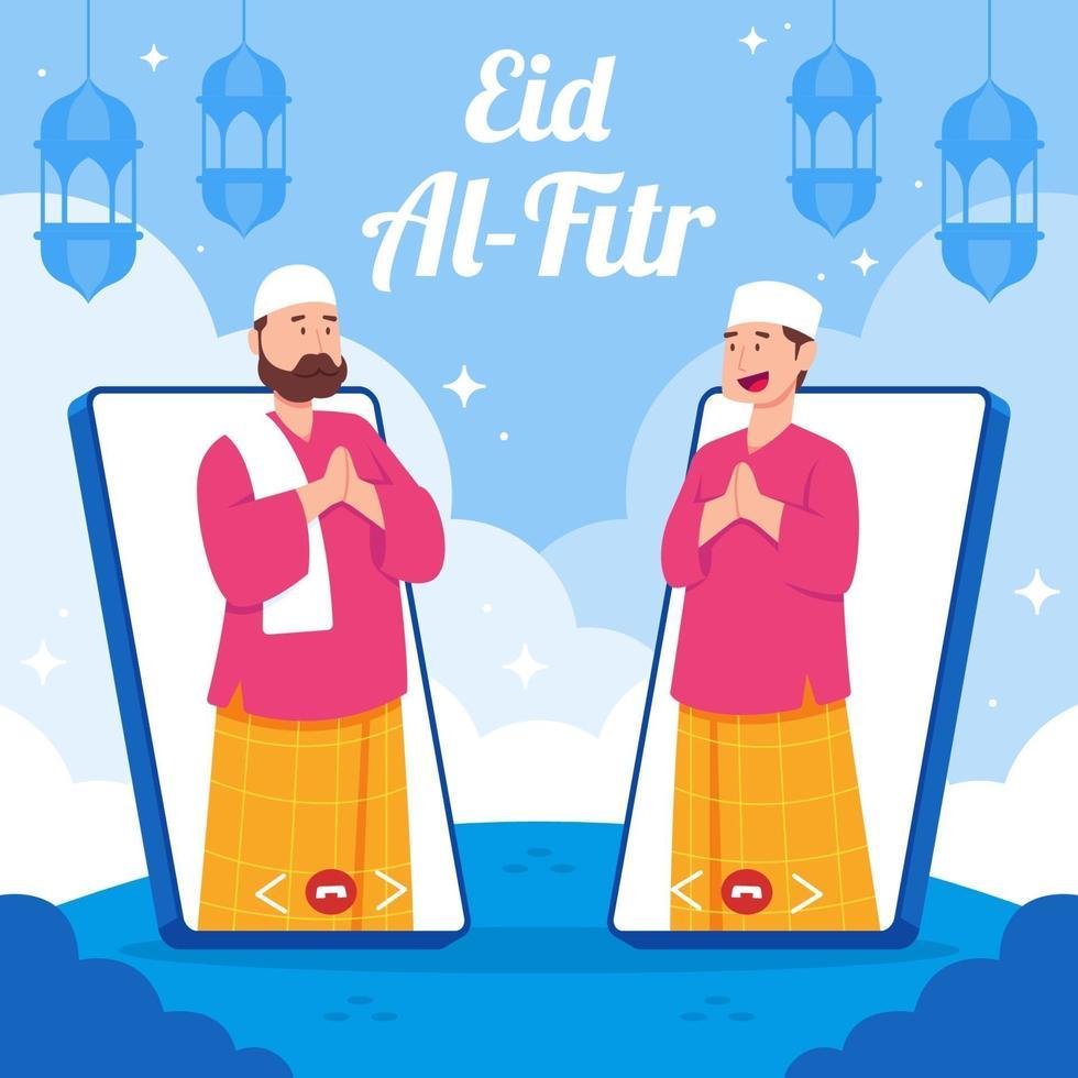 celebrazione dell'eid in caso di pandemia tramite videochiamata vettore