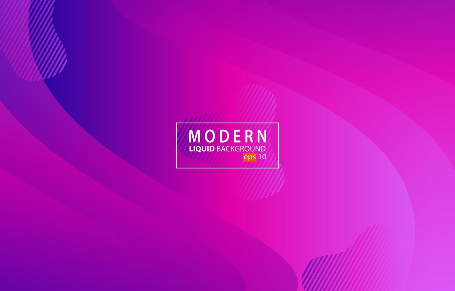 moderno colore liquido rosa background.wavy sfondo geometrico.disegno di elemento geometrico strutturato dinamico vettore